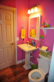 interior blue and pink bathroom designs for admirable pink