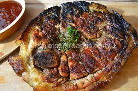 cuisiner rouelle de porc rouelle de porc grillée petits plats entre amis