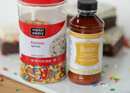 homemade brownies with funfetti frosting confessions of a