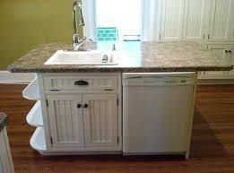 how to build a kitchen island with sink and cabinets dishwasher island
