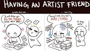 Artist Meme - the cruel reality life of an artist by marshalgiggles meme center
