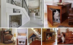 Dog House Interior Dwell Of Decor 15 Modern Indoor Dog House Designs