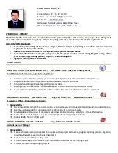 procurement resume procurement executive cv