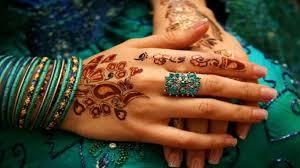 beautifull leady beautiful hand free widescreen hd henna 1366x768
