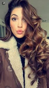 best 15 years hair style 15 best collection of curled long hair styles