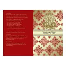 hindu wedding program hindu wedding program gifts on zazzle