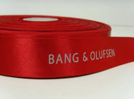 custom ribbon with logo satin ribbon w custom logo printing from blooming company b2b