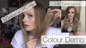 hk extensions hk extensions weekend in malibu colour demo