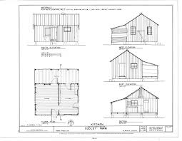 Farmhouse Floor Plan by File Kitchen Elevations Floor Plan And Section Dudley Farm