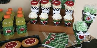 football decorations brilliant decoration football themed baby shower design end
