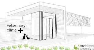 archizen architects designing modern eco sustainable veterinary