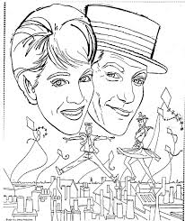 mostly paper dolls mary poppins movie coloring contest 1965