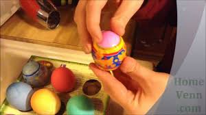 Decorate Easter Eggs Youtube by How To Shrink A Plastic Wrapper Onto An Easter Egg Youtube