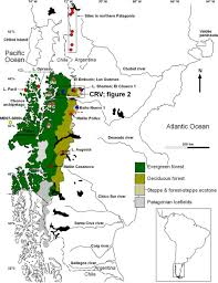 Patagonia Map Frontiers Human Effects In Holocene Fire Dynamics Of Central