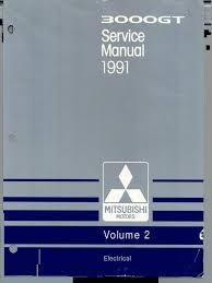 1991 servicemanual mitsubishi 3000gt vol 2 troubleshooting