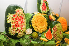 Vegetable And Fruit Decoration Fruit Carving Wikipedia