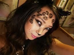 leopard halloween costume makeup tutorial hoop costumes