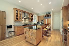 Dark And Light Kitchen Cabinets Light Hardwood Kitchen Floor For Dark Cabinets Latest Kitchen Ideas
