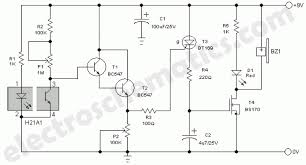 alarm circuit page 11 security circuits next gr with regard