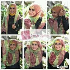 tutorial jilbab turban dian pelangi 23 best hijab tutorial images on pinterest hijab styles hijab
