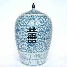 blue and white chinese porcelain ginger jar cargo