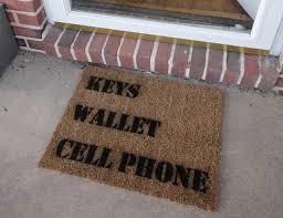 Doormat Leave The