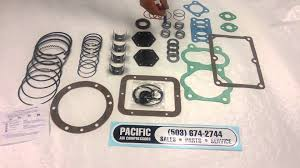 parts in a generic compressor rebuild kit youtube