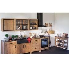 meuble cuisine modulable ensemble de meubles de cuisine en acacia naturel lys les