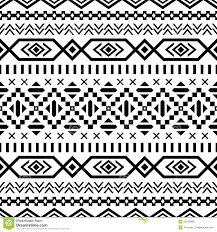 Tribal Print Wallpaper by Ethnic Striped Seamless Pattern Stock Vector Image 50378989