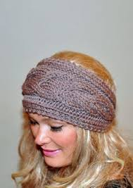 crochet hair band chunky crochet headband pattern crochet and knit