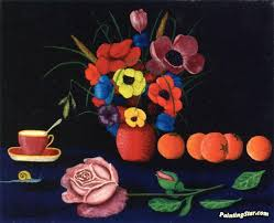 flowers and fruit still with flowers and fruit artwork by camille bombois