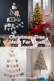 christmas tree ideas for small spaces my shop lifestyle