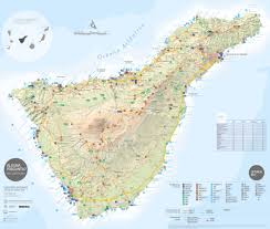 Valladolid Spain Map by Tenerife Maps Canary Islands Spain Map Of Tenerife