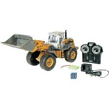 carson modellsport wheel loader 1 14 rc beginners scale models