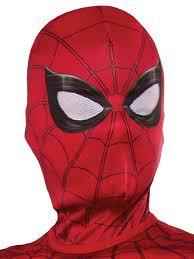 kids spider man homecoming spiderman hood costume supercenter