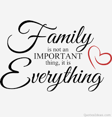 family is everything quote