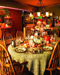 Thanksgiving Table Decor Ideas by Decorations Attractive Thanksgiving Christmas Table Decoration