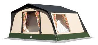 toile de tente 4 places 2 chambres toile de tente familial 4 places coton marque kampa