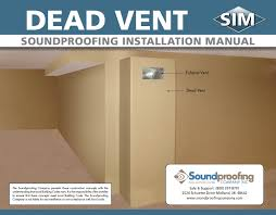 soundproofing installation manuals sim instruction guides