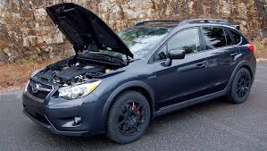 blue subaru crosstrek subaru drive performance mods crosstrek body and wrx soul a
