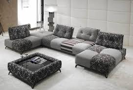 canape cuir et tissu canapé divina tissu ou cuir modulable aerre insensé mobilier