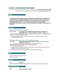 Telemetry Nurse Resume Sample by Nurse Resume Template