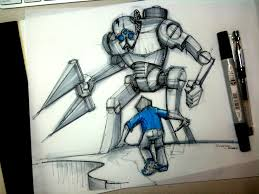 big robot lineweights