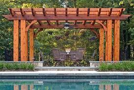 mclean u0026 great falls pergola porch u0026 pool house design