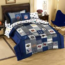 nfl football logo sport twin cotton quilt comforter sham sheet