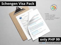 sample cover letter for schengen visa application at the french