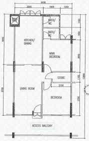 hdb floor plan floor plans for clementi avenue 4 hdb details srx property