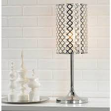 glitz crystal and chrome table lamp 62673 lamps plus