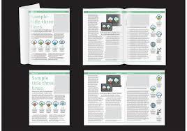 magazine layout graphic design technology magazine layout download free vector art stock