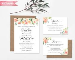 vistaprint wedding invitations printable burgundy floral wedding invitation pdf template